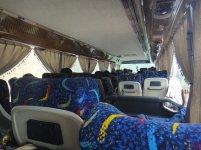 Wnętrze busa do wynajęcia